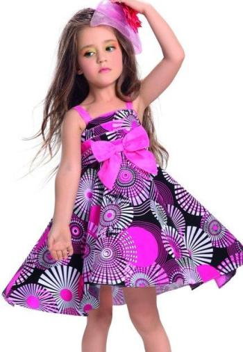 Фото — платье на выпускной в детском